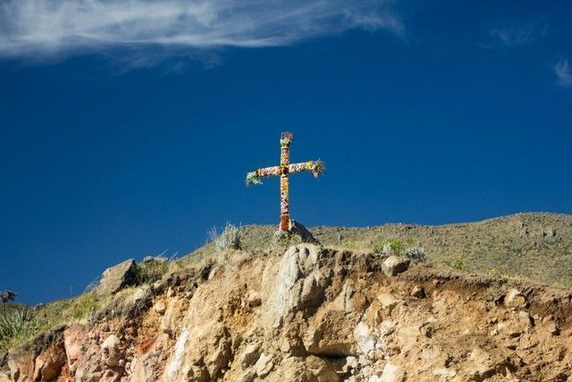 cruz del condor valle del colca peru