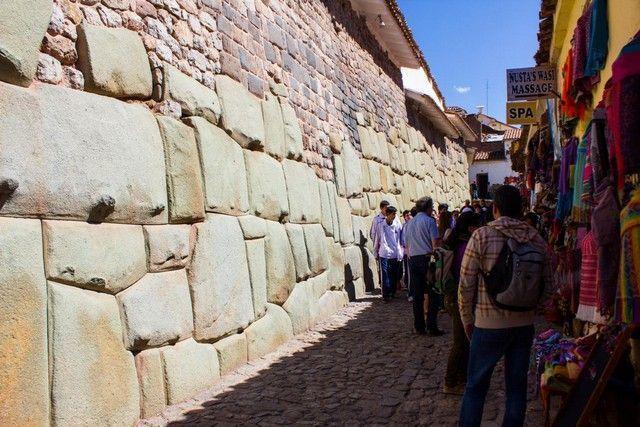 cuesta de san blas cuzco peru