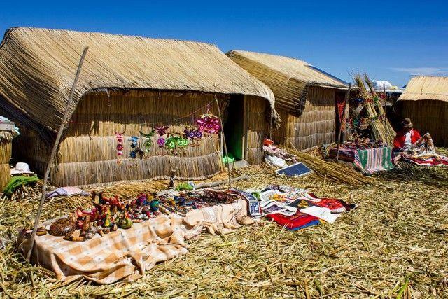 isla de totora lago titicaca peru