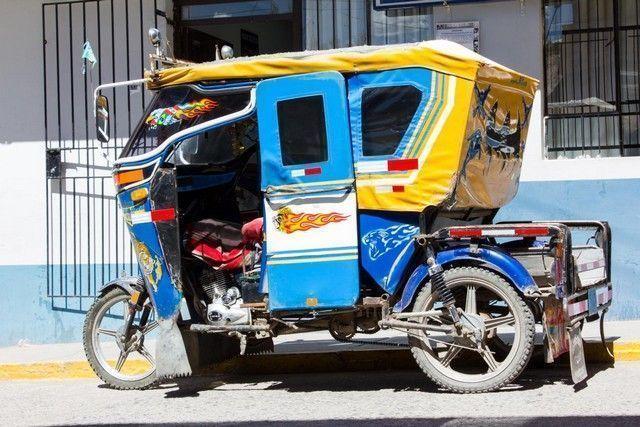 medios de trasporte chivay peru