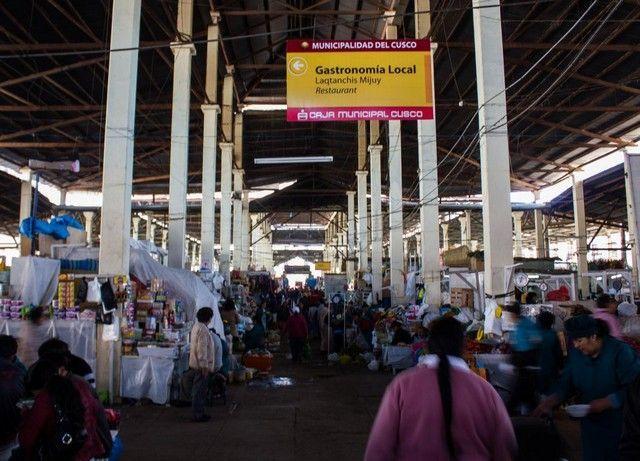 mercado de san pedro cuzco peru 2