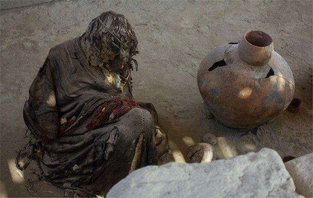 necropolis de chauchilla peru nazca