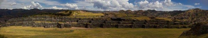 panoramica de Sacsaywamán cuzco peru