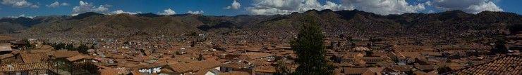 panoramica de cuzco peru