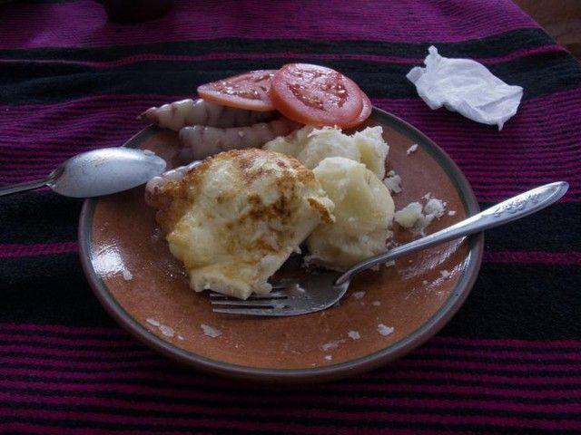 patata verduras y queso amantani peru