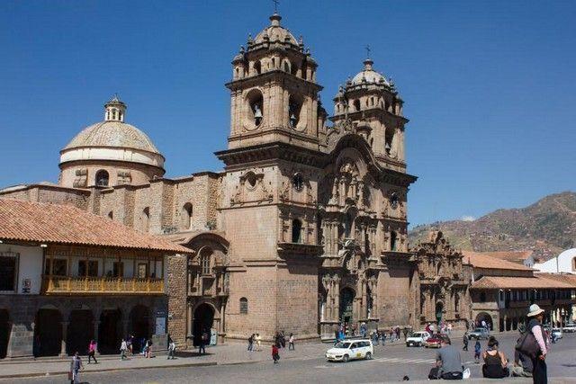 plaza de armas de cuzco peru