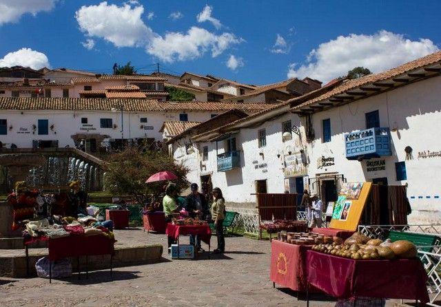 plazas de cuzco peru