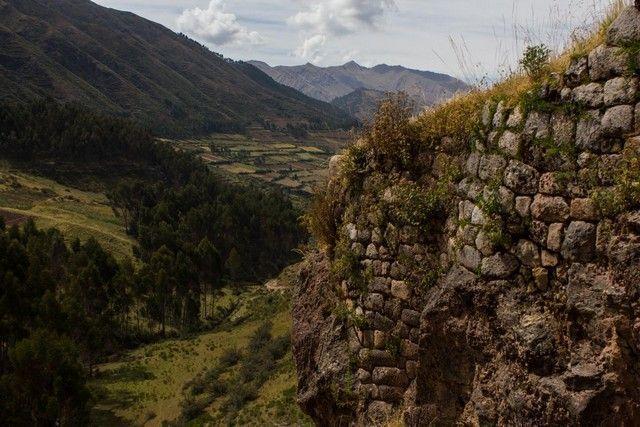 ruinas puca pucara cuzco peru
