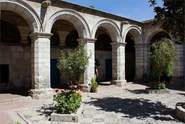 soportales monasterio de santa catalina arequipa