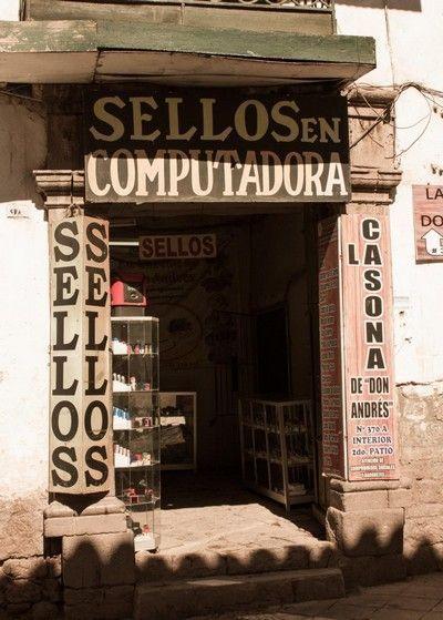 tienda de sellos peru cuzco