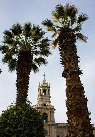 torreon catedral de arequipa