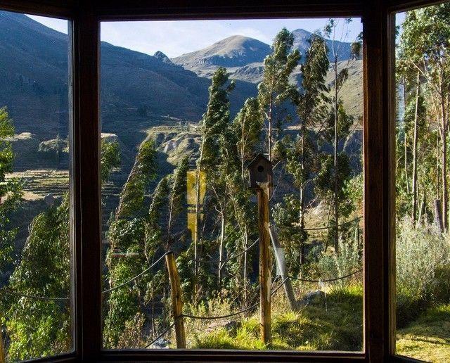 ventanal eco inn valle del colca peru