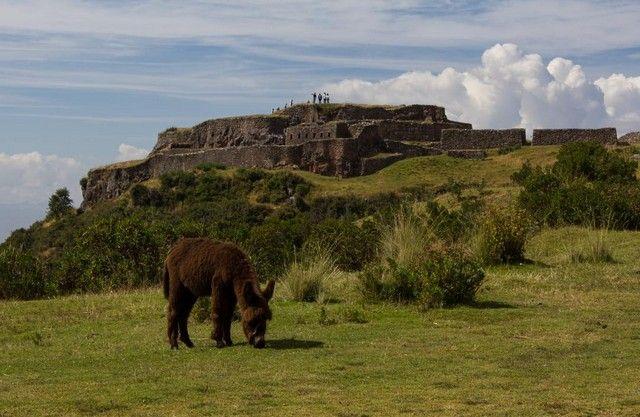 vision general puca pucara cuzco peru