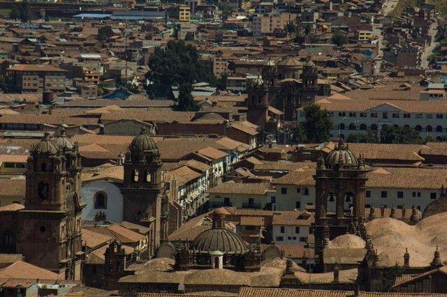 vistas desde iglesia de san blas cuzco peru