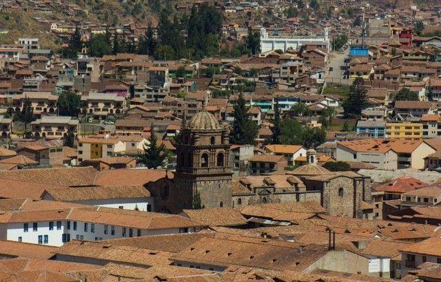 vistas desde la iglesia de san blas cuzco peru
