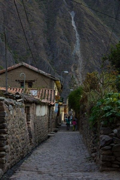 calles de ollantaytambo peru