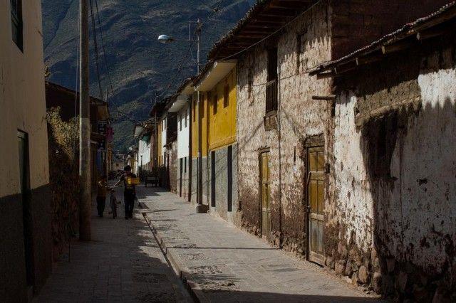 calles de pisac peru