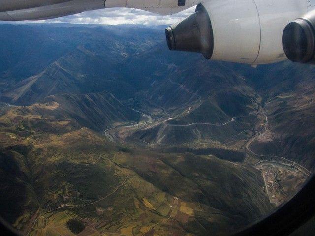 sobrevolando cuzco peru