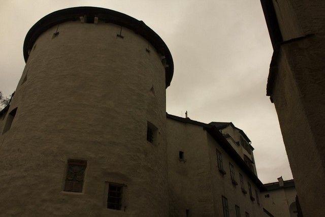 Fortaleza de Hohensalzburg calles