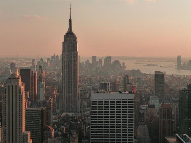 Atardece en Nueva York