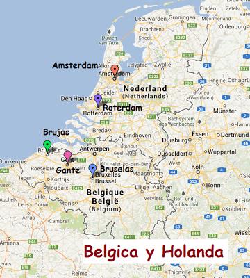 12 días por Bélgica y Holanda