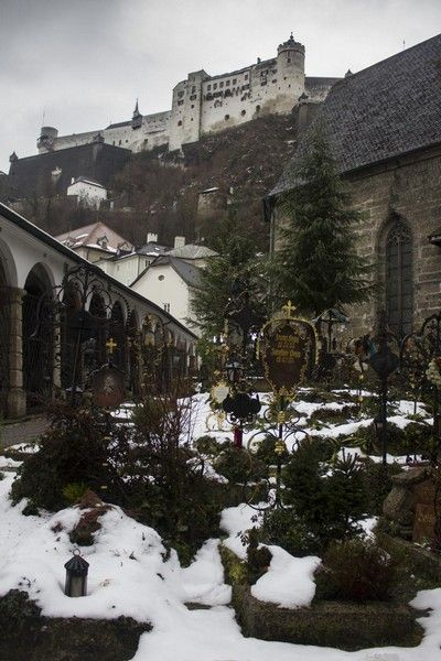 cementerio Abadia de San Pedro salzburgo