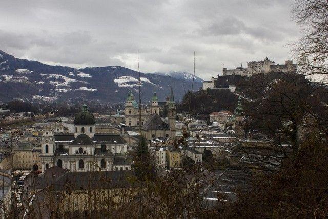 vista general de salzburgo