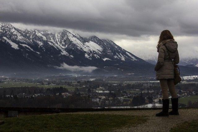 vistas desde Fortaleza de Hohensalzburg salzburgo