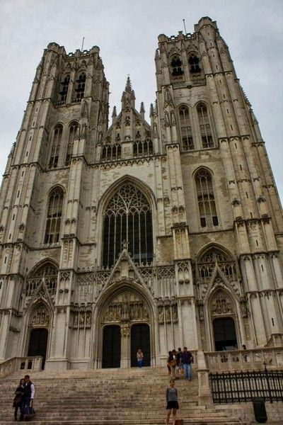 Catedral de San Miguel y Santa Gúdula belgica
