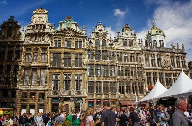 Maison des Ducs de Brabant bruselas belgica
