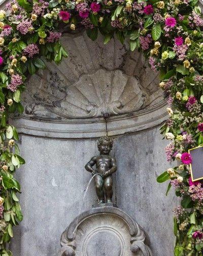 Manneken Piss bruselas belgica