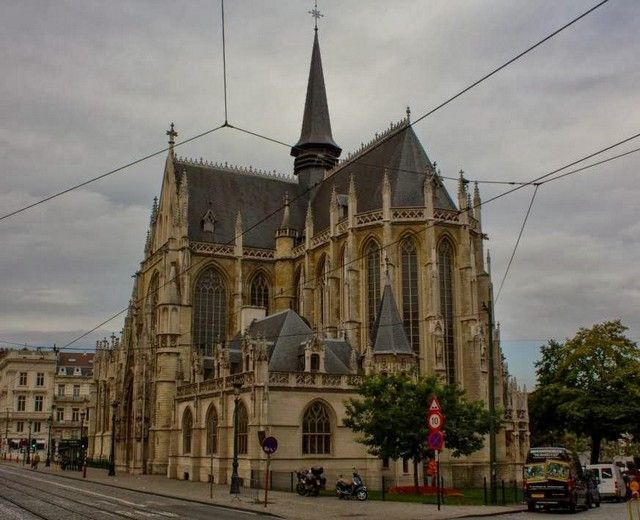 Notre Dame du Sablon bruselas belgica