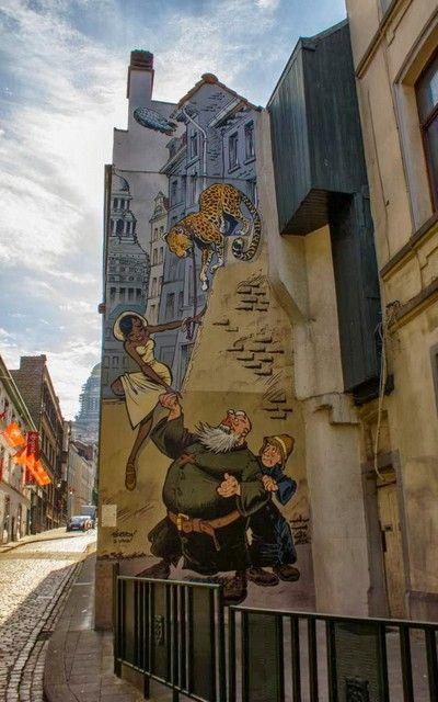 Odilon Verjus comic bruselas belgica