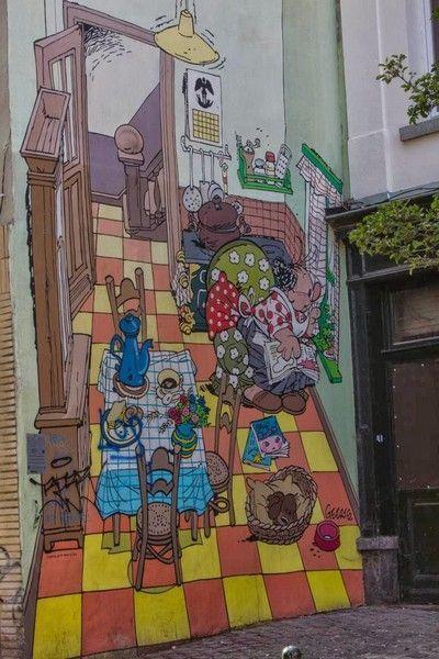Pequeño Jojo comic bruselas belgica