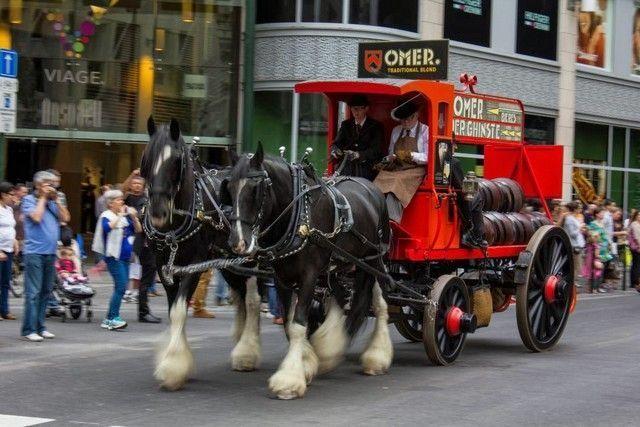 desfile cerveza bruselas