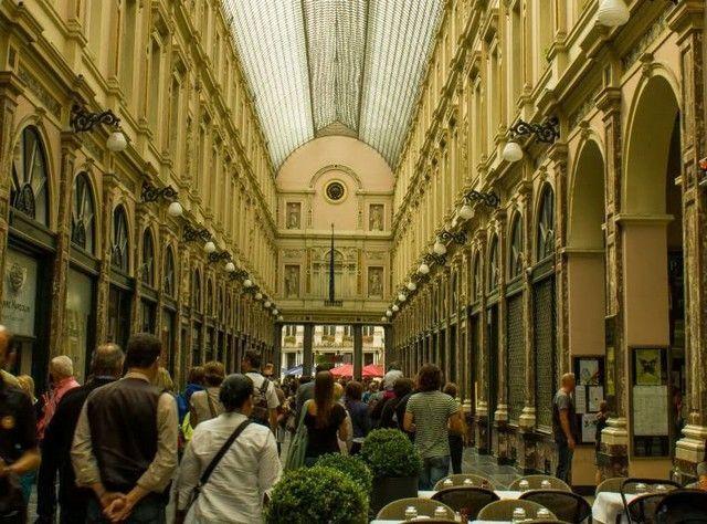 galerias hubert bruselas belgica