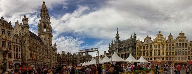 panoramica grote markt bruselas