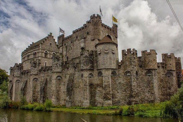 Gravensteen o castillo de gante belgica