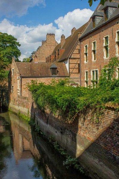 Groot Begijnhof lovaina belgica
