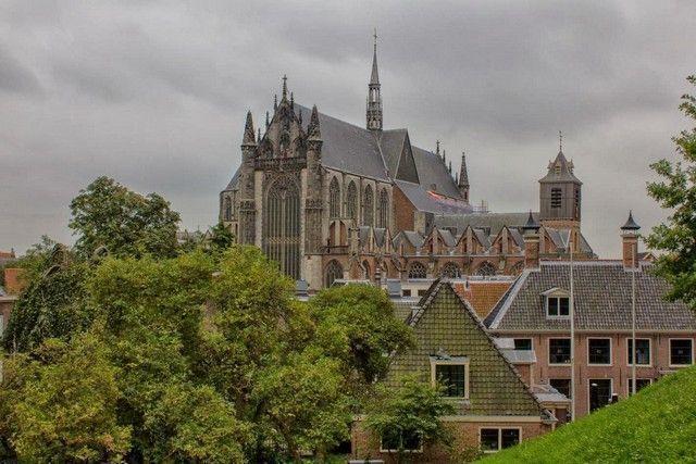 Iglesia Pieterskerk leiden holanda