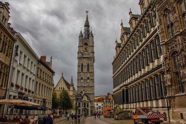 Torre Beldfort gante belgica