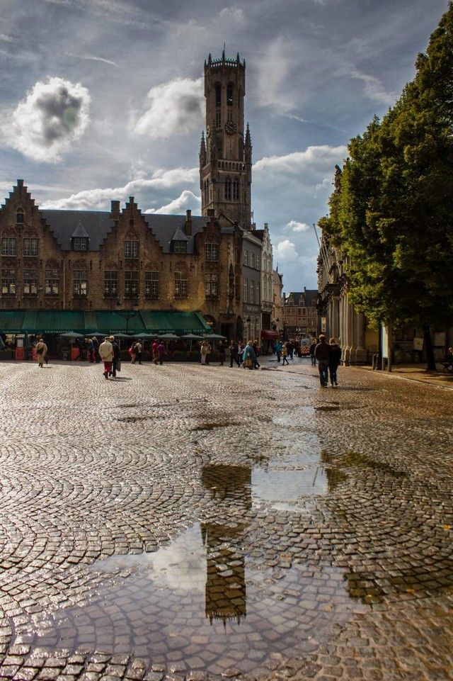 brujas con lluvia belgica