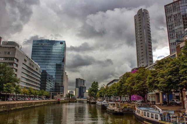 calles de rotterdam holanda
