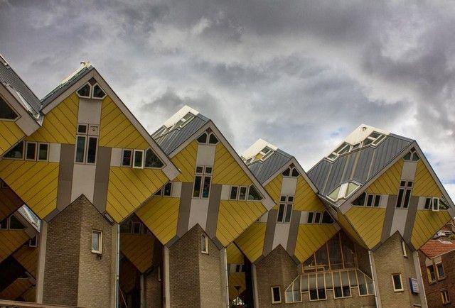 casas cubo rotterdam holanda detalle
