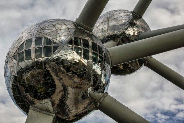 detalles atomium bruselas belgica
