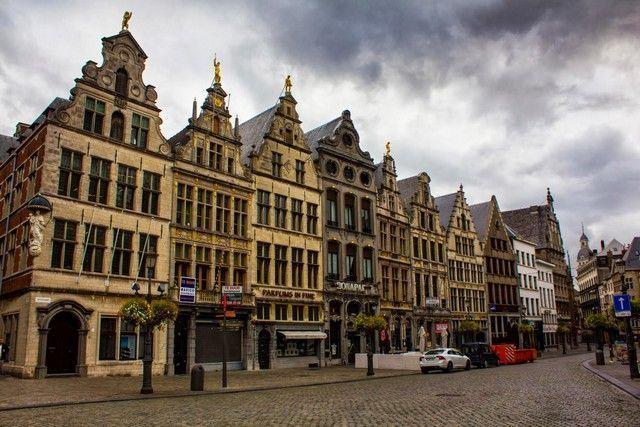 edificios gremiales grotte markt amberes belgica