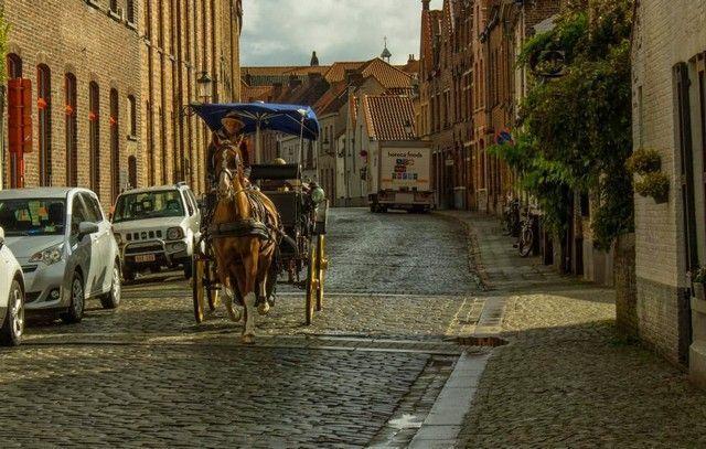 entrada a Brujas belgica