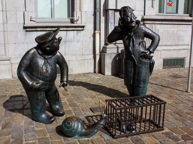 estatuas en namur belgica