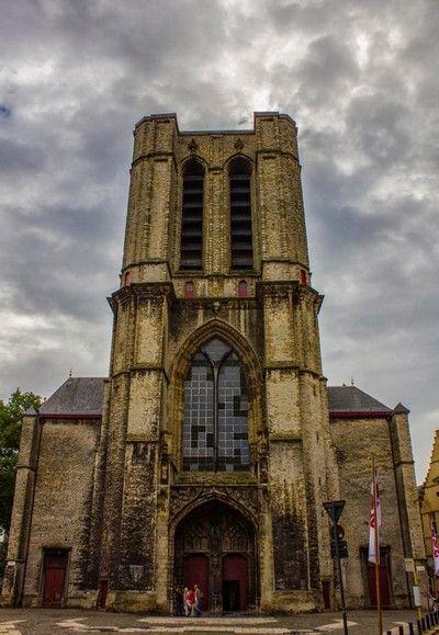 iglesia de San Miguel Gante Belgica