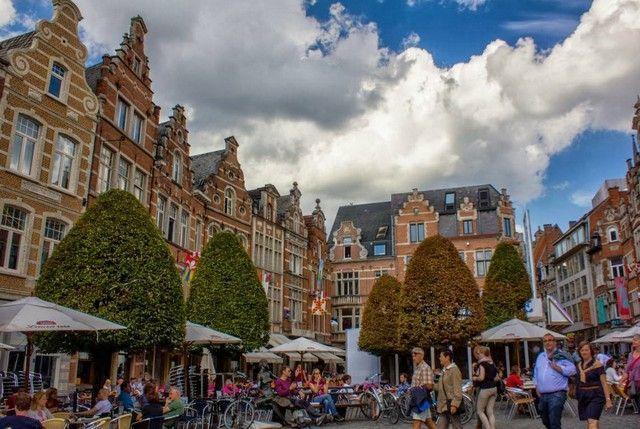 mercado viejo lovaina belgica